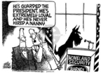 Cartoonist Mike Peters  Mike Peters' Editorial Cartoons 2004-12-15 podium