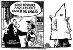Cartoonist Mike Peters  Mike Peters' Editorial Cartoons 2003-12-10 south
