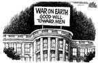 Cartoonist Mike Peters  Mike Peters' Editorial Cartoons 2002-12-26 mass