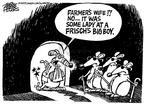 Cartoonist Mike Peters  Mike Peters' Editorial Cartoons 2003-11-11 injury