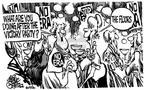 Cartoonist Mike Peters  Mike Peters' Editorial Cartoons 1982-06-30 equal rights amendment