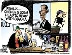 Cartoonist Mike Peters  Mike Peters' Editorial Cartoons 2009-05-21 head