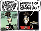 Cartoonist Mike Peters  Mike Peters' Editorial Cartoons 2009-07-14 political advertising