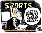 Cartoonist Mike Peters  Mike Peters' Editorial Cartoons 2009-08-12 hall