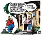 Cartoonist Mike Peters  Mike Peters' Editorial Cartoons 2009-11-13 gardening