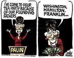 Cartoonist Mike Peters  Mike Peters' Editorial Cartoons 2010-02-03 because