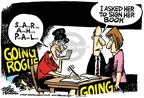 Cartoonist Mike Peters  Mike Peters' Editorial Cartoons 2010-02-09 sign