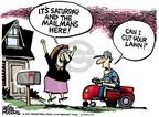 Cartoonist Mike Peters  Mike Peters' Editorial Cartoons 2010-03-09 gardening