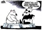Cartoonist Mike Peters  Mike Peters' Editorial Cartoons 2010-06-09 animal welfare