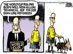 Cartoonist Mike Peters  Mike Peters' Editorial Cartoons 2010-06-29 umpire