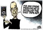 Cartoonist Mike Peters  Mike Peters' Editorial Cartoons 2010-07-14 apple