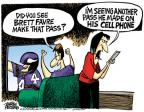 Cartoonist Mike Peters  Mike Peters' Editorial Cartoons 2010-10-12 football player