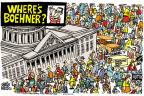 Cartoonist Mike Peters  Mike Peters' Editorial Cartoons 2010-10-19 congressional leadership