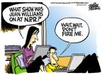 Cartoonist Mike Peters  Mike Peters' Editorial Cartoons 2010-10-22 fire