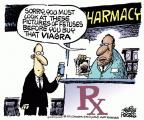 Cartoonist Mike Peters  Mike Peters' Editorial Cartoons 2011-02-26 Viagra