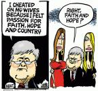 Cartoonist Mike Peters  Mike Peters' Editorial Cartoons 2011-03-11 responsibility