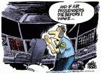 Cartoonist Mike Peters  Mike Peters' Editorial Cartoons 2011-04-15 air travel safety