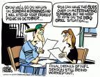 Cartoonist Mike Peters  Mike Peters' Editorial Cartoons 2011-07-27 football