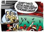 Cartoonist Mike Peters  Mike Peters' Editorial Cartoons 2011-09-14 game