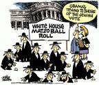 Cartoonist Mike Peters  Mike Peters' Editorial Cartoons 2011-09-16 2012 election religion