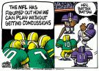 Cartoonist Mike Peters  Mike Peters' Editorial Cartoons 2011-09-28 football player