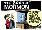 Cartoonist Mike Peters  Mike Peters' Editorial Cartoons 2011-10-11 2012 election religion