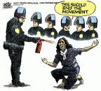Cartoonist Mike Peters  Mike Peters' Editorial Cartoons 2011-11-23 officer