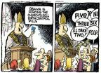 Cartoonist Mike Peters  Mike Peters' Editorial Cartoons 2012-02-08 two
