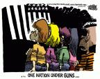 Cartoonist Mike Peters  Mike Peters' Editorial Cartoons 2012-03-15 pledge of allegiance
