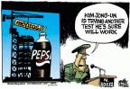 Cartoonist Mike Peters  Mike Peters' Editorial Cartoons 2012-04-13 North Korea