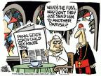 Cartoonist Mike Peters  Mike Peters' Editorial Cartoons 2012-06-20 coach