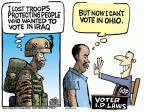 Cartoonist Mike Peters  Mike Peters' Editorial Cartoons 2012-06-27 troop