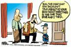 Cartoonist Mike Peters  Mike Peters' Editorial Cartoons 2012-07-18 boy scout