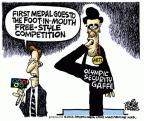 Cartoonist Mike Peters  Mike Peters' Editorial Cartoons 2012-07-26 goes