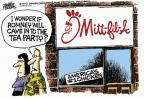 Cartoonist Mike Peters  Mike Peters' Editorial Cartoons 2012-08-02 Mitt