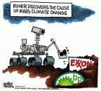 Cartoonist Mike Peters  Mike Peters' Editorial Cartoons 2012-08-08 climate