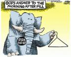 Cartoonist Mike Peters  Mike Peters' Editorial Cartoons 2012-08-15 Mitt