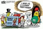 Cartoonist Mike Peters  Mike Peters' Editorial Cartoons 2012-11-23 memorial