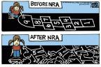 Cartoonist Mike Peters  Mike Peters' Editorial Cartoons 2012-12-14 NRA