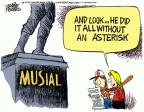 Cartoonist Mike Peters  Mike Peters' Editorial Cartoons 2013-01-21 baseball