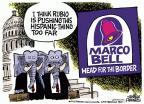 Cartoonist Mike Peters  Mike Peters' Editorial Cartoons 2013-01-31 too