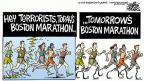 Cartoonist Mike Peters  Mike Peters' Editorial Cartoons 2013-04-17 athlete
