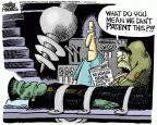 Cartoonist Mike Peters  Mike Peters' Editorial Cartoons 2013-06-14 genetic science