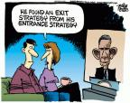 Cartoonist Mike Peters  Mike Peters' Editorial Cartoons 2013-09-11 military strategy