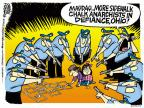 Cartoonist Mike Peters  Mike Peters' Editorial Cartoons 2013-10-25 child