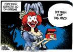 Cartoonist Mike Peters  Mike Peters' Editorial Cartoons 2013-12-06 strike
