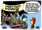 Cartoonist Mike Peters  Mike Peters' Editorial Cartoons 2013-12-20 television program