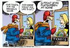 Cartoonist Mike Peters  Mike Peters' Editorial Cartoons 2014-01-03 football