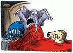 Cartoonist Mike Peters  Mike Peters' Editorial Cartoons 2014-01-09 head