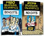 Mike Peters  Mike Peters' Editorial Cartoons 2014-02-06 1980 Olympics